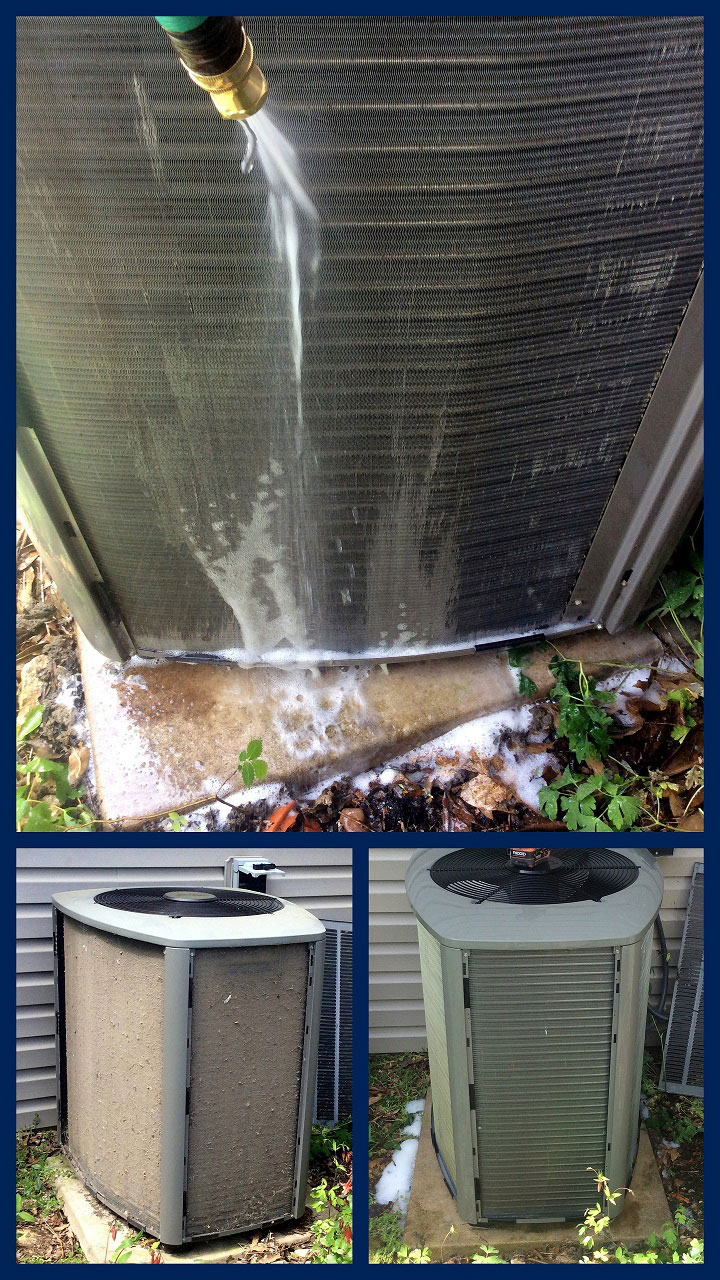 Before-during-after condenser small